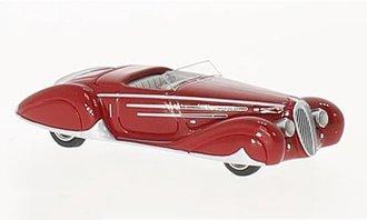 1:87 1938 Delahaye 165 V12 (Red)