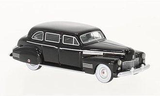1:87 1941 Cadillac Fleetwood 75 Touring Sedan (Black)