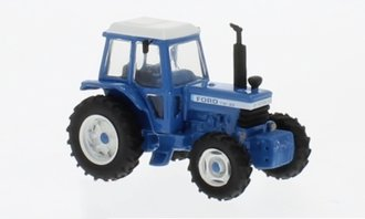 1:87 1979 Ford TW-20 Tractor (Blue/White)