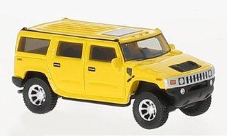 1:87 2003 Hummer H2 (Yellow)