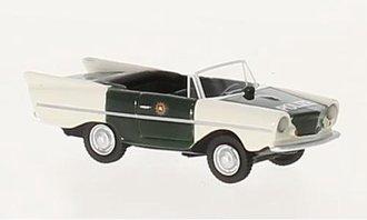 """1:87 1961 Amphicar 770 """"Polizei"""" (White/Green)"""