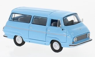 1:87 1968 Skoda 1203 Bus (Light Blue)