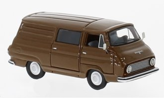 1:87 1968 Skoda 1203 Box Wagon (Brown)