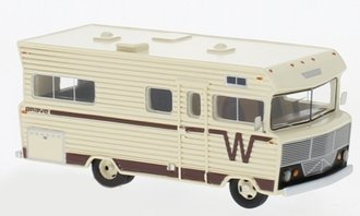 1:87 1973 Winnebago Brave RV (Beige/Brown)