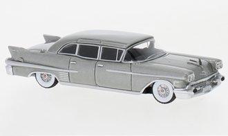 1:87 1958 Cadillac Fleetwood 75 Limousine (Gray Metallic)