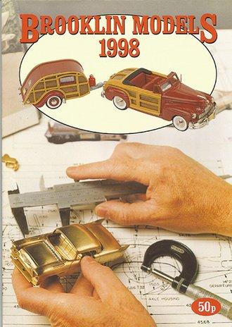 Brooklin Models 1998 Color Catalog Flyer