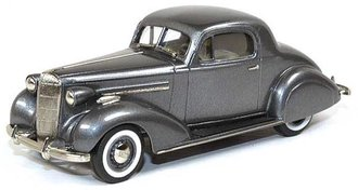 1936 Buick Special Sport Coupe M-46S (Moderne Gray Metallic)