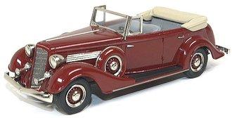 1934 Buick 68-C Series 60 4-Door Convertible Phaeton Model 68-C (Ambassador Maroon)