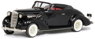 1:43 1936 Buick Special Convertible Coupe Model 46-C (Black)