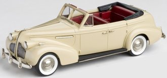 1939 Buick Century Convertible Phaeton (Cream)