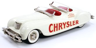 "1941 Chrysler Newport ""Indianapolis Pace Car"" (Off White w/Red Interior w/Blue License)"