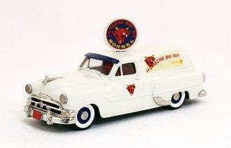 "1953 Pontiac Sedan Delivery ""La Vache Qui Rit, Momaco, France"""