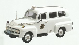 "1952 Ford F-1 Ranger ""Colorado State Police"" (White)"