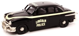 "1951 Ford Fordor Police ""Lincoln, NE"" (Black)"