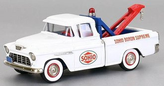 "1955 Chevy Cameo Wrecker ""Sohio"" (White)"