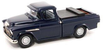 "1:43 1955 Chevy Cameo Pickup ""Last Cameo"" (Navy Blue) w/Tonneau Cover"