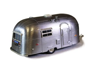 1:43 1953 Airstream Wanderer Trailer (Bare Metal)