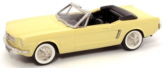 1965 Ford Mustang Convertible (Yellow)