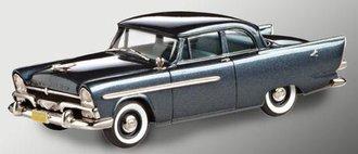 1956 Plymouth Plaza 2-Door Club Sedan (Charcoal Gray)