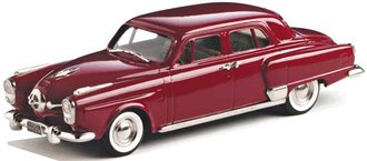 1950 Studebaker Land Cruiser 4-Door Sedan (Comanche Red)