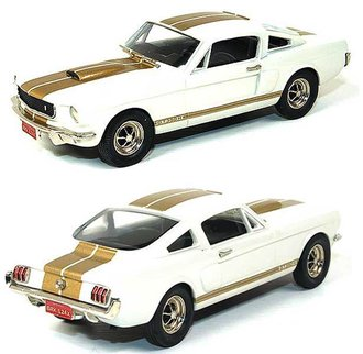 "1:43 1966 Ford Mustang GT 350-H ""Hertz"" Coupe (White/Gold) [Limited Edition - Factory Special]"