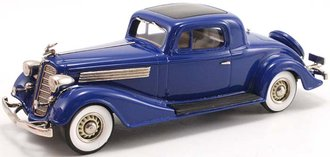 1:43 1934 Buick 96-S Coupe (Royale Blue)