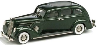 1:43 1937 Lincoln Model K 7-Passenger Sedan (Evergreen Poly)