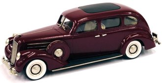 1937 Lincoln Model K 7-Passenger Sedan (Royal Maroon)