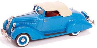 1936 Hudson Terraplane Custom Six Convertible Coupe (Closed) (Hudson Blue)