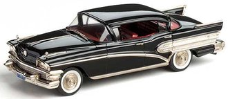 1:43 1958 Buick Roadmaster 75 (Carlsbad Black) [Limited Edition - Factory Special]
