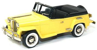 1948 Willys Overland Jeepster Roadster (Yellow/Black)