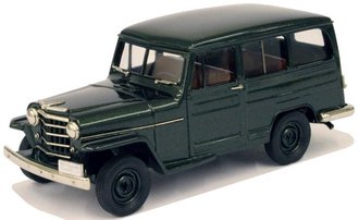 1:43 1951 Willys Overland Station Wagon (Hampshire Green Poly)