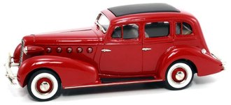 1:43 1934 LaSalle Series 350 4-Door Sedan (Maroon)