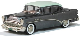 1:43 1954 Buick Century 4-Door Sedan (Green/Gray)