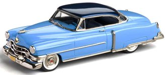 1:43 1952 Cadillac Series 62 Coupe de Ville (Nassau Blue/Olympic Blue)