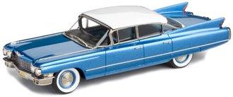 1960 Cadillac Series 62 6-Window Sedan (Pelham Blue Poly/Olympic White)