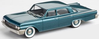 1:43 1961 Ford Fairlane 4-Door Sedan (Garden Turquoise Poly)