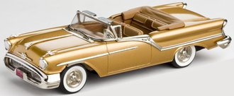 1:43 1957 Oldsmobile 88 2-Door Convertible (Gold Mist Poly)