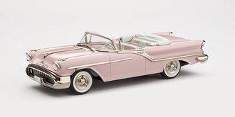 1957 Oldsmobile Super 88 2-Door Convertible (Powder Puff Pink)