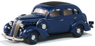 1:43 1937 Graham Supercharged 116 4-Door Sedan (Blue)