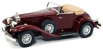 1:43 1933 Stutz DV-32 Weyman Super Bearcat Roadster (Maroon)