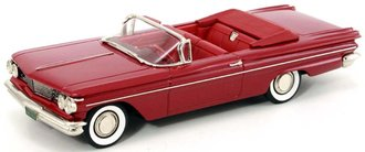 1960 Pontiac Catalina Convertible (Coronado Red Poly)