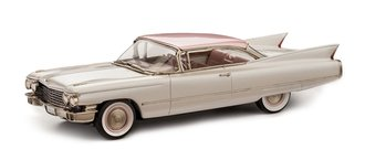 1:43 1960 Cadillac Series 62 Coupe (Oyster Pink w/Pearl Pink Roof)