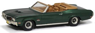 1:43 1970 Buick GS 455 Convertible (Emerald Mist Poly)