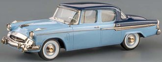 1955 Studebaker President 4-Door Sedan (Windsor Blue/Alpena Blue)