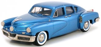 1:43 1948 Tucker 4-Door Sedan (Waltz Blue)