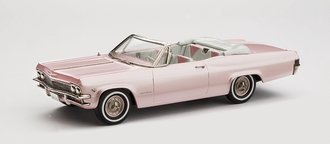 1:43 1965 Chevrolet Impala Convertible Coupe (Pink Pearl)
