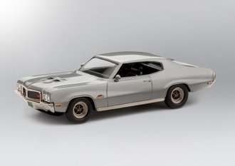 1:43 1970 Buick GS 455 Hardtop Coupe (Silver Mist)