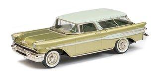 1957 Pontiac Safari Station Wagon (Seacrest Green/Limefire Green)
