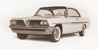 1961 Pontiac Ventura Hardtop Sports Coupe 'Bubble Top' (TBA)